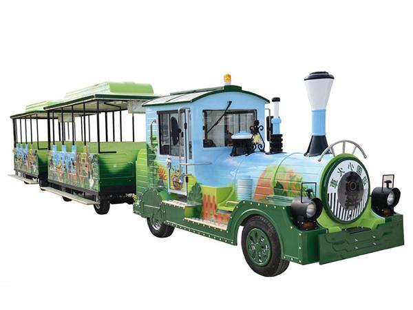 CHC-20型 彩绘款(动物园定制)无轨观光小火车