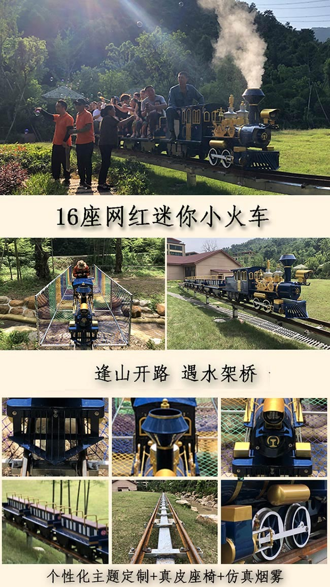 CHC-16座亲山1号网红观光小火车