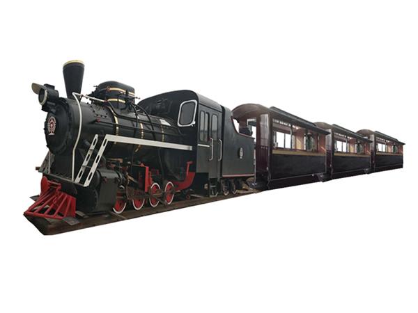 CHC-96人 磨砂黑轨道观光小火车