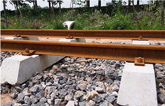 钢枕小火车轨道工程
